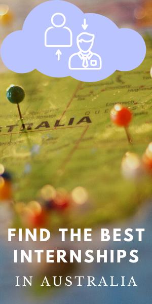 find the best internships in Australia here